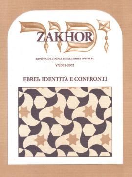 Zakhor-V-2002-Ebrei-identita-e-confronti