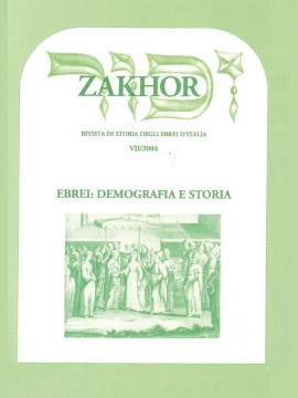 Zakhor-VII-2004-Ebrei-demografia-e-storia